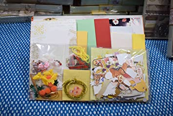 Buy Asian Hobby Crafts SKL003 DIY Greeting Card Embellished Kit Online At Low Prices In India