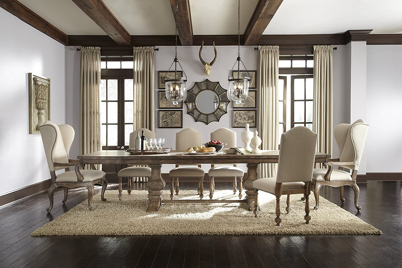 Amazon.com: Pulaski 6 Piece Upholstered Dining Chair Set In Cream: Kitchen  U0026 Dining