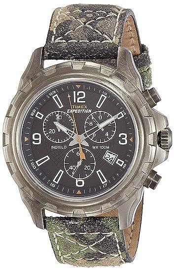 Timex T499879J - Reloj de pulsera hombre, color Verde