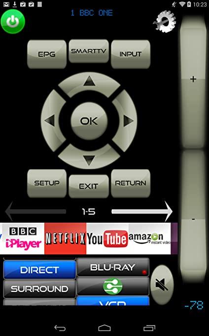 Amazon.com: MyAV TV & Blu-Ray WiFi & IR remote for Sony ...