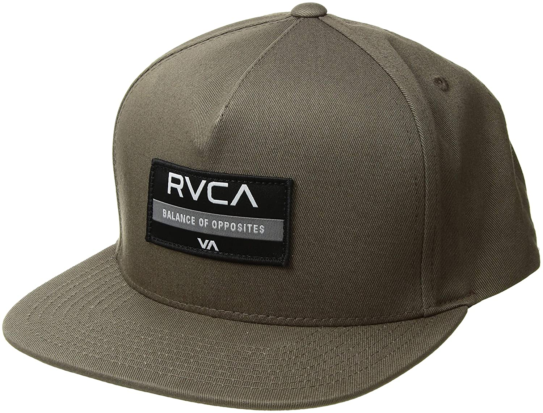 RVCA Men's Territory Snapback Hat Black One Size MAHWSRTS