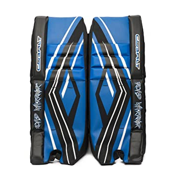 Road Warrior Cobalt Series Street Hockey Goalie Pads Hockey Sticks
