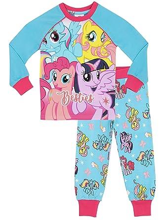 40fb34a09869 Amazon.com  My Little Pony Girls  My Little Pony Pajamas  Clothing