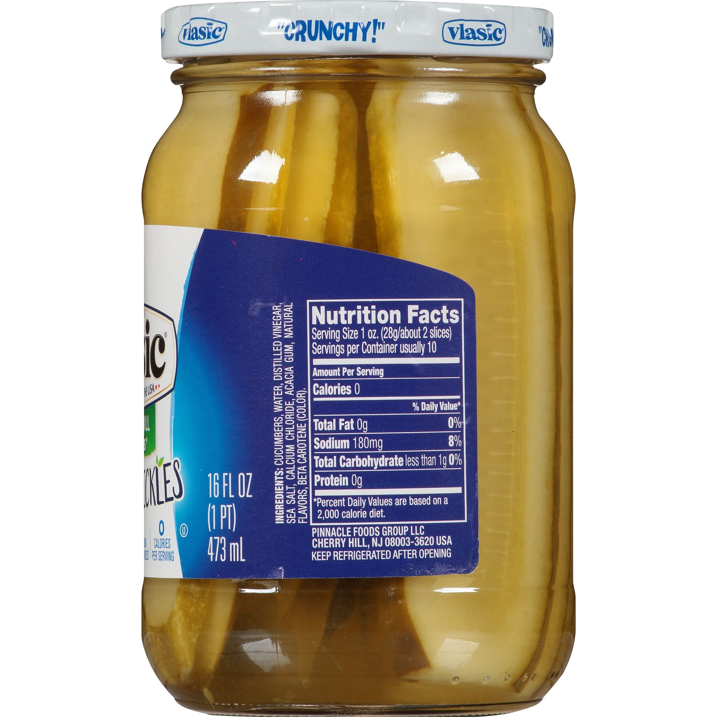 Vlasic Purely Pickles, Stackers with Kosher Dill, 16 Ounce (Pack of 6) by Vlasic (Image #7)