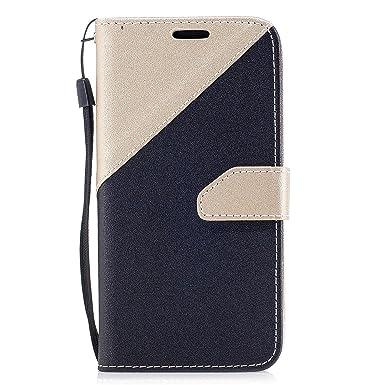 b66ba395c60 Lomogo Galaxy J5 (2017) / J530 / J5 Pro (2017) Leather Wallet Case ...