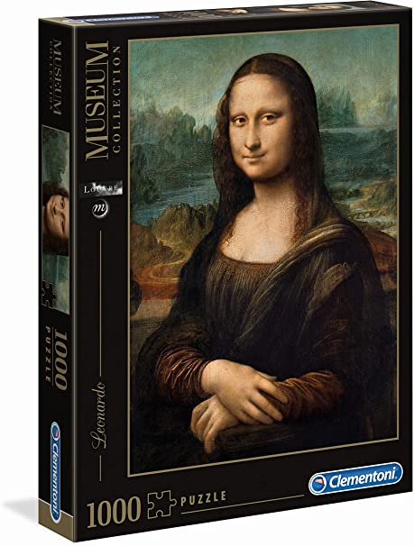 Clementoni Rompecabezas Puzzle 1000 Piezas Museos Leonardo: Mona Lisa, 12+ (31413): Amazon.es: Juguetes y juegos