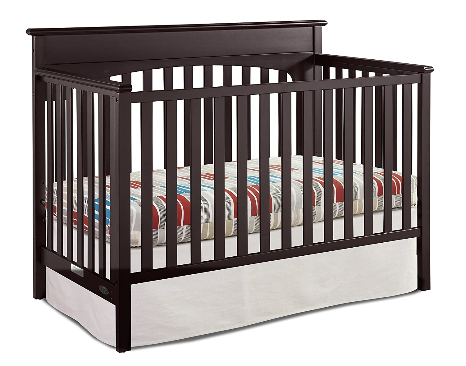 Graco Lauren Convertible Crib, Espresso 04530-369