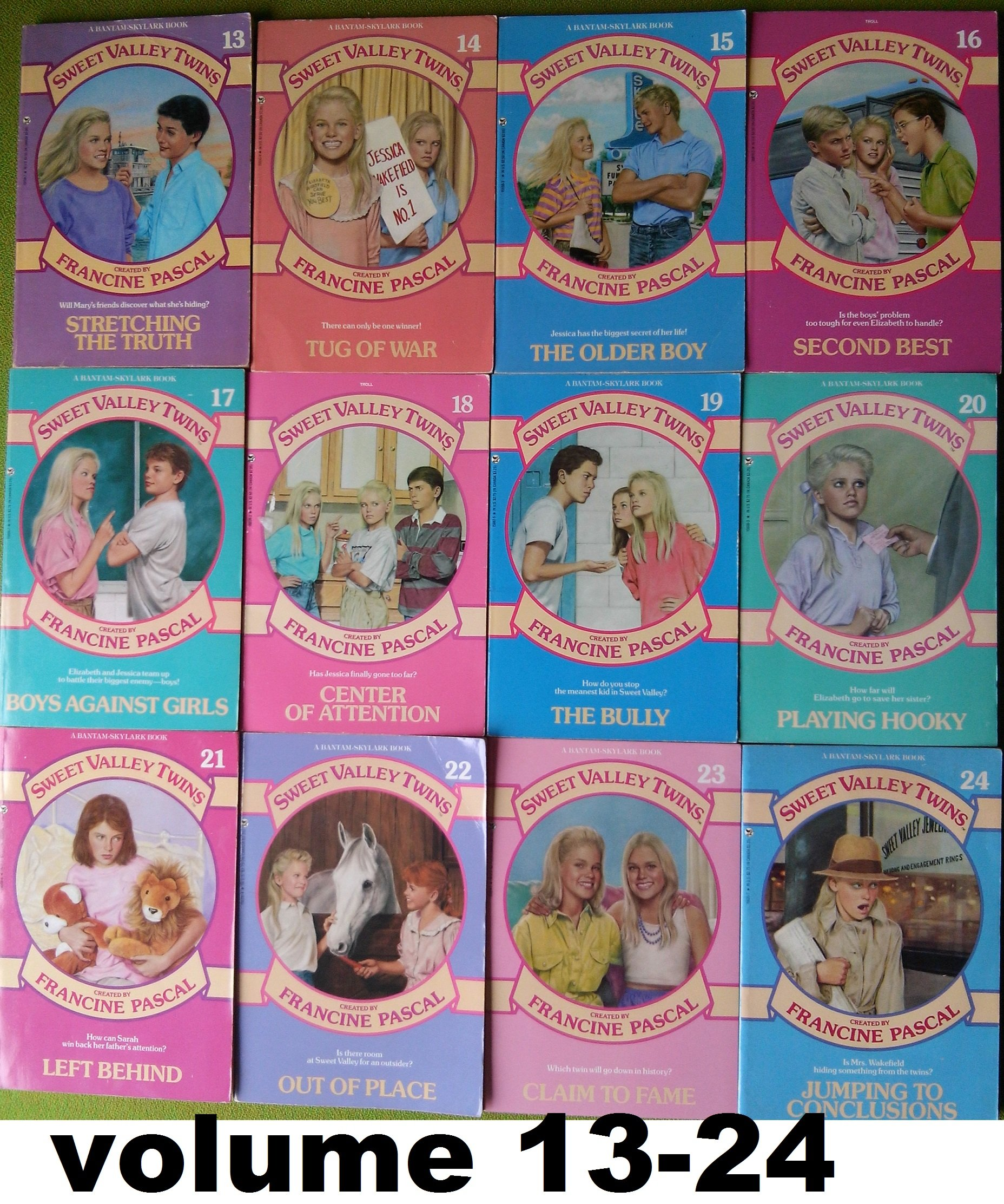 Francine Pascal 1980s Sweet Valley Twins Books Sold Separately 27 Volumes