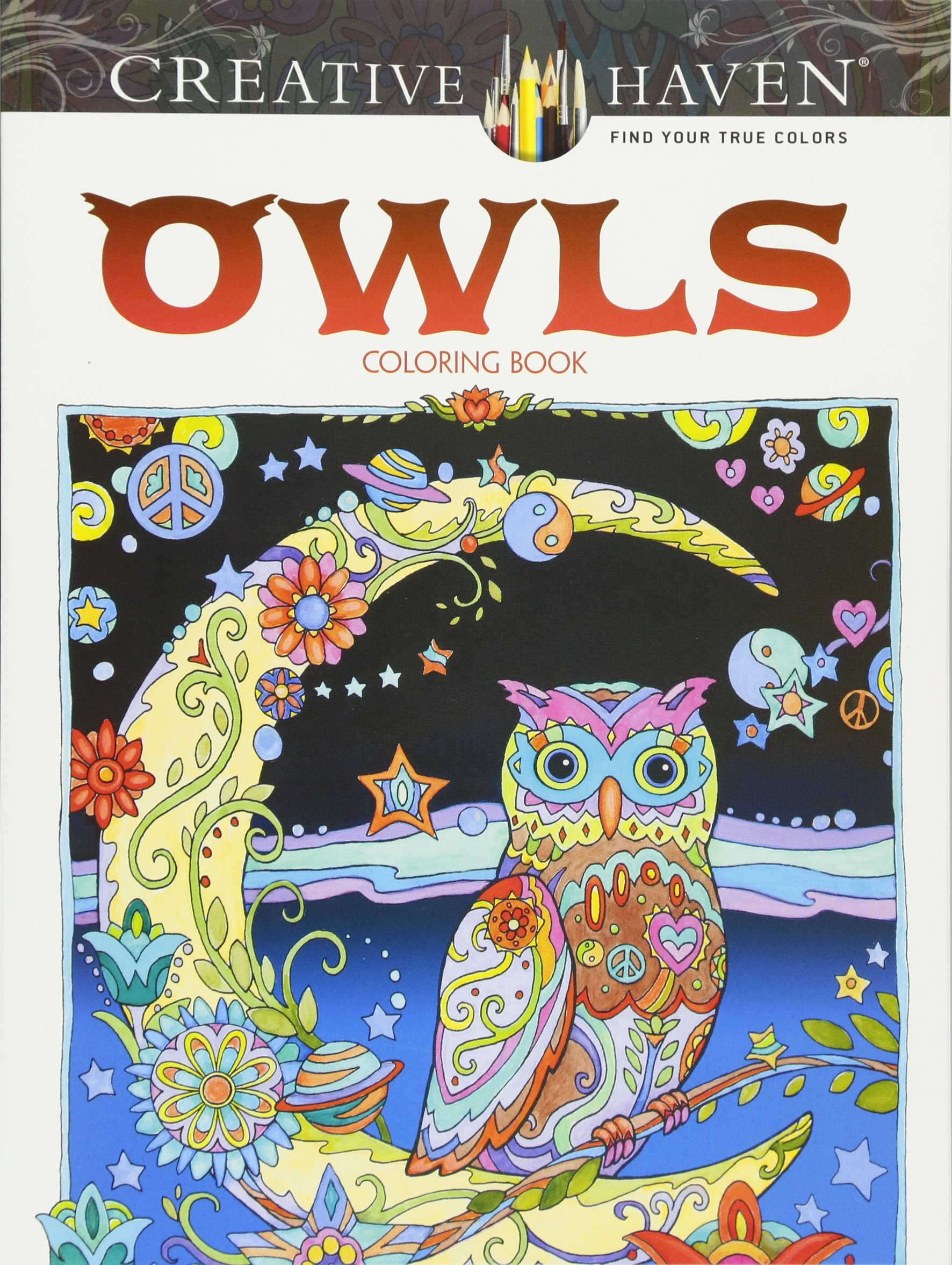 A fun magic coloring book amazon - Amazon Com Creative Haven Owls Coloring Book Adult Coloring 9780486796642 Marjorie Sarnat Books