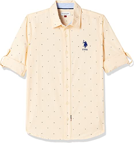 US Polo Association Boys' Shirt Boys' Shirts at amazon