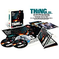 The Thing [Limited Collectors Edition] [4K Ultra HD] [1982] [Blu-ray] [Region Free]