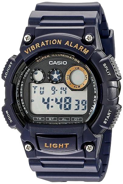 Casio W735H-2AVCF - Reloj para hombres, correa de resina