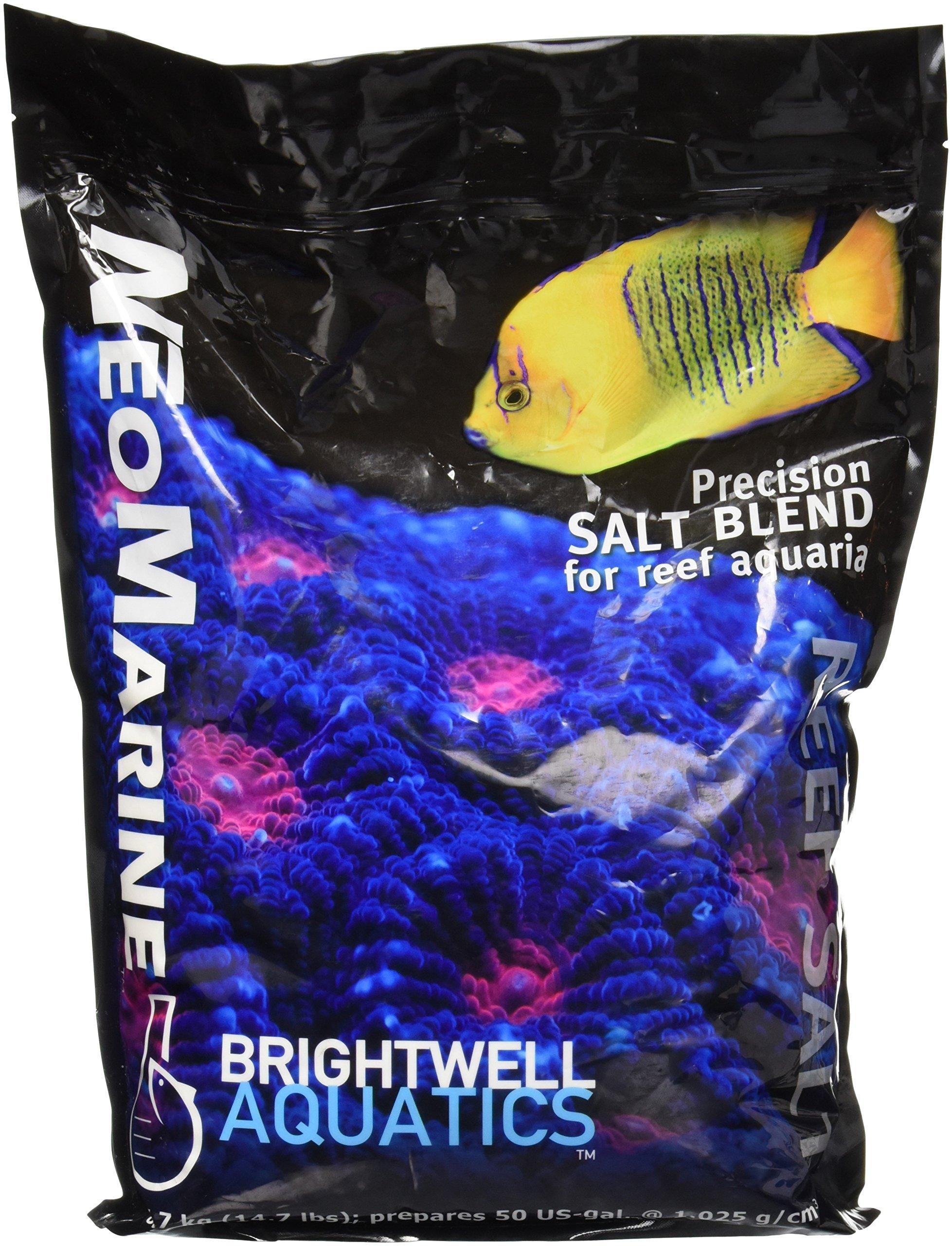 Brightwell Aquatics ABANMAR50 Neomarine Marine Salt, 50-Gallon