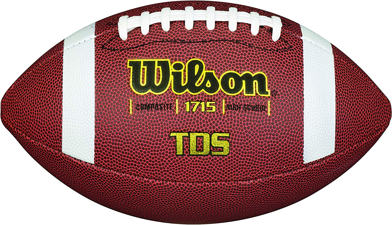 Wilson TDS Composite Football - Official : Official Footballs : Sports & Outdoors