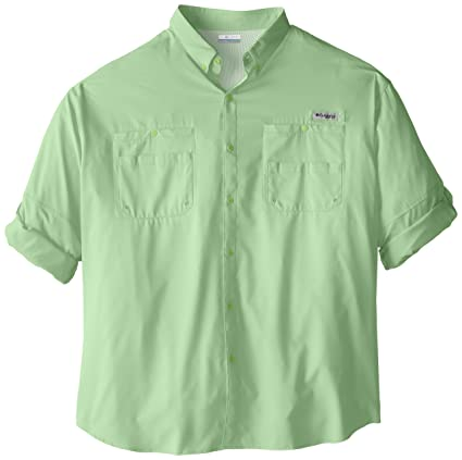 e972b461f Columbia Men's PFG Tamiami II Long Sleeve Shirt — Big, Key West, Large/