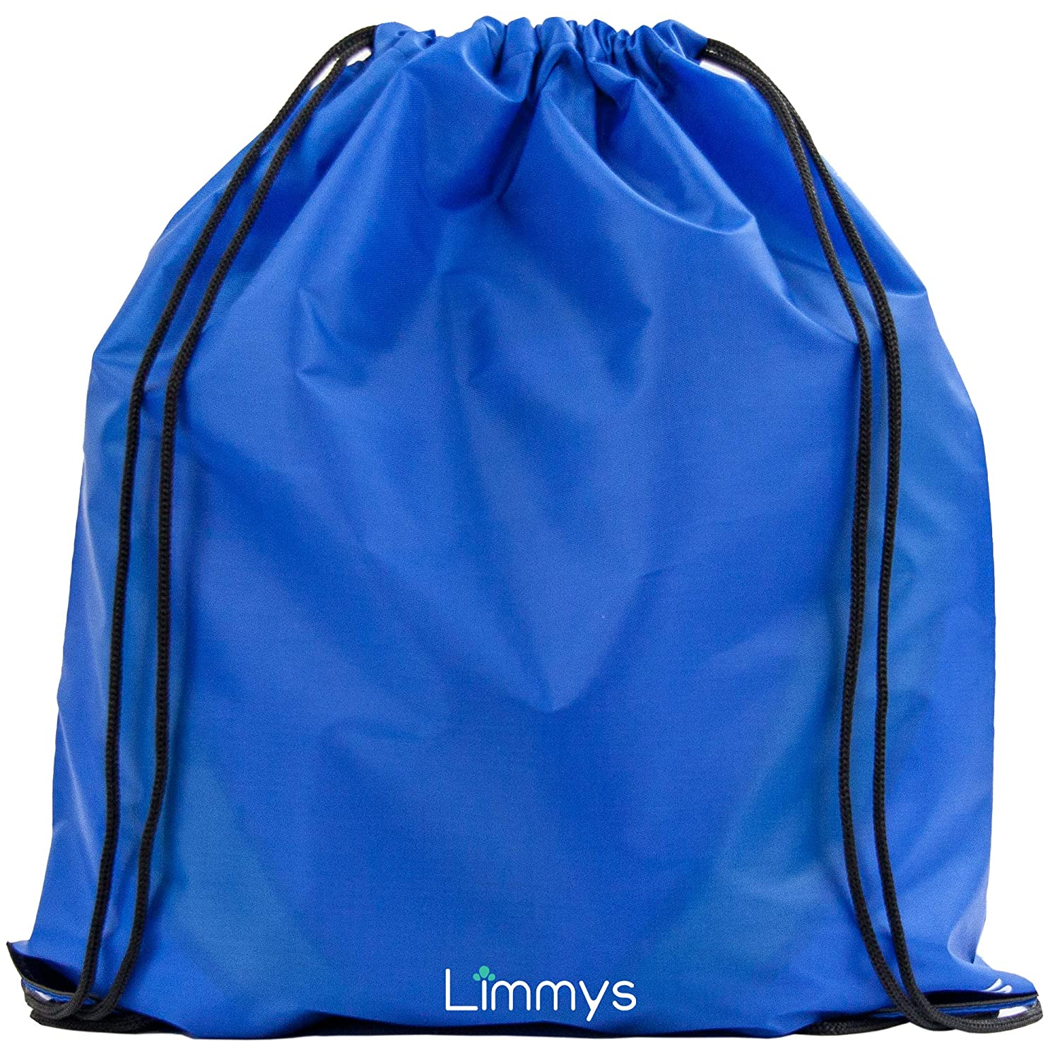 Limmys WATERPROOF DRAWSTRING PE KIT BAG, Gym, Swimming and other Sports Bag for Boys, Girls and Adults