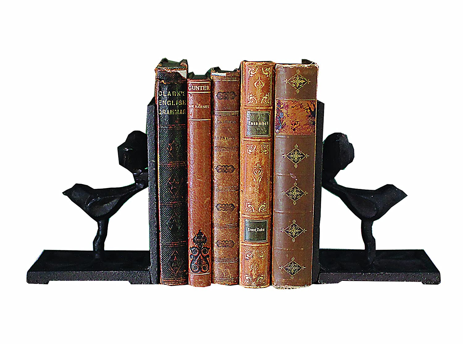 Creative Co-op Cast Iron Bird Bookends HD5824