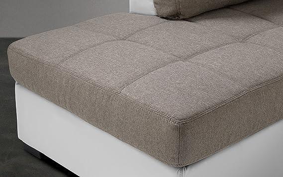 dafnedesign. com - Sofá cama angular sintética 3 plazas con ...