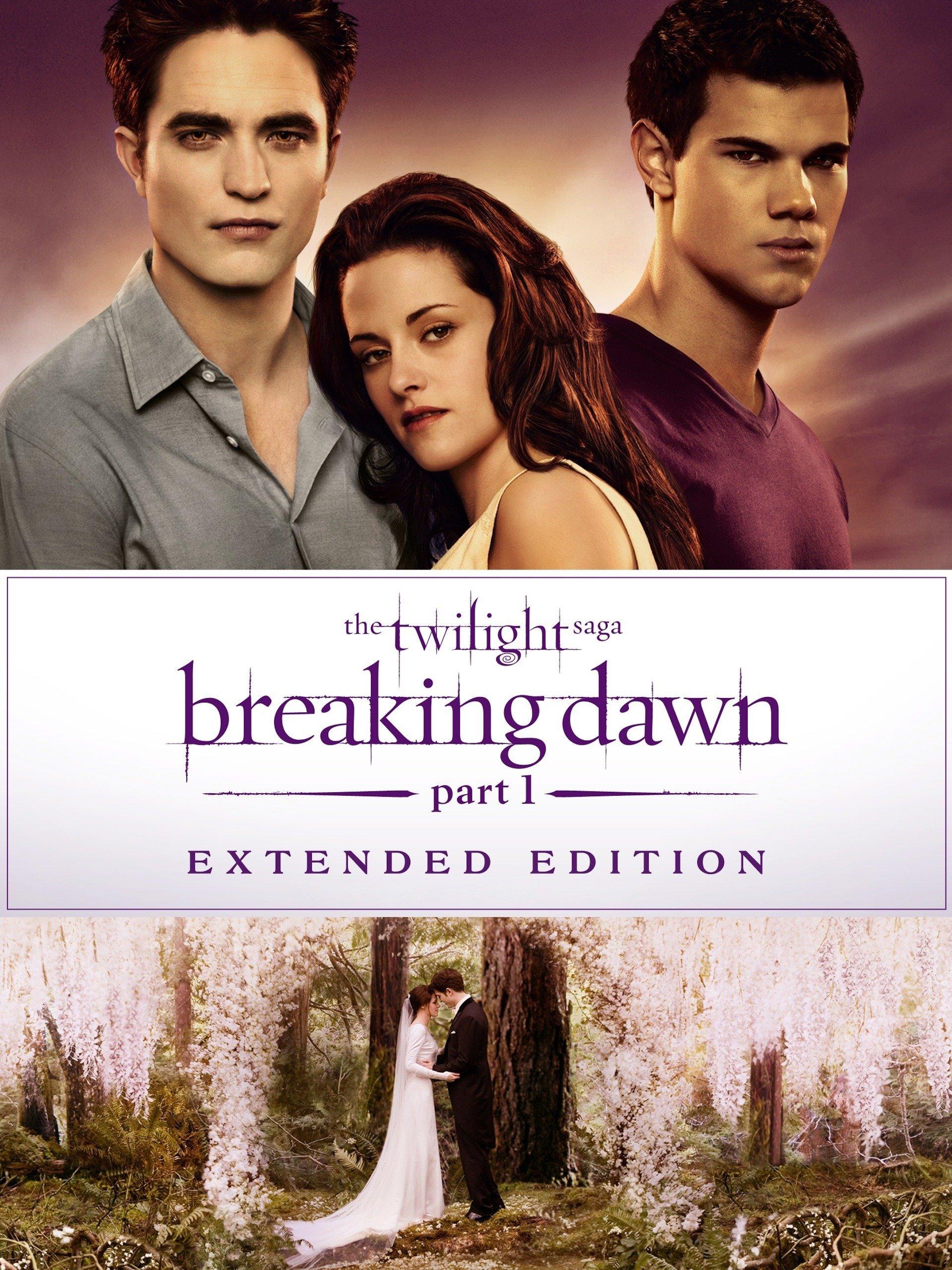 Twilight Saga Breaking Dawn - Part1 - Extended