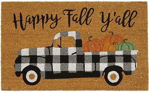 Door mat Happy Fall