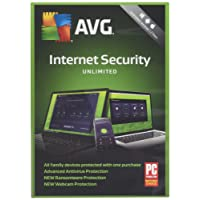 AVG Internet Security 2018 Unlimited - 2 Year Unlimited Devices (PC/Mac/Android)