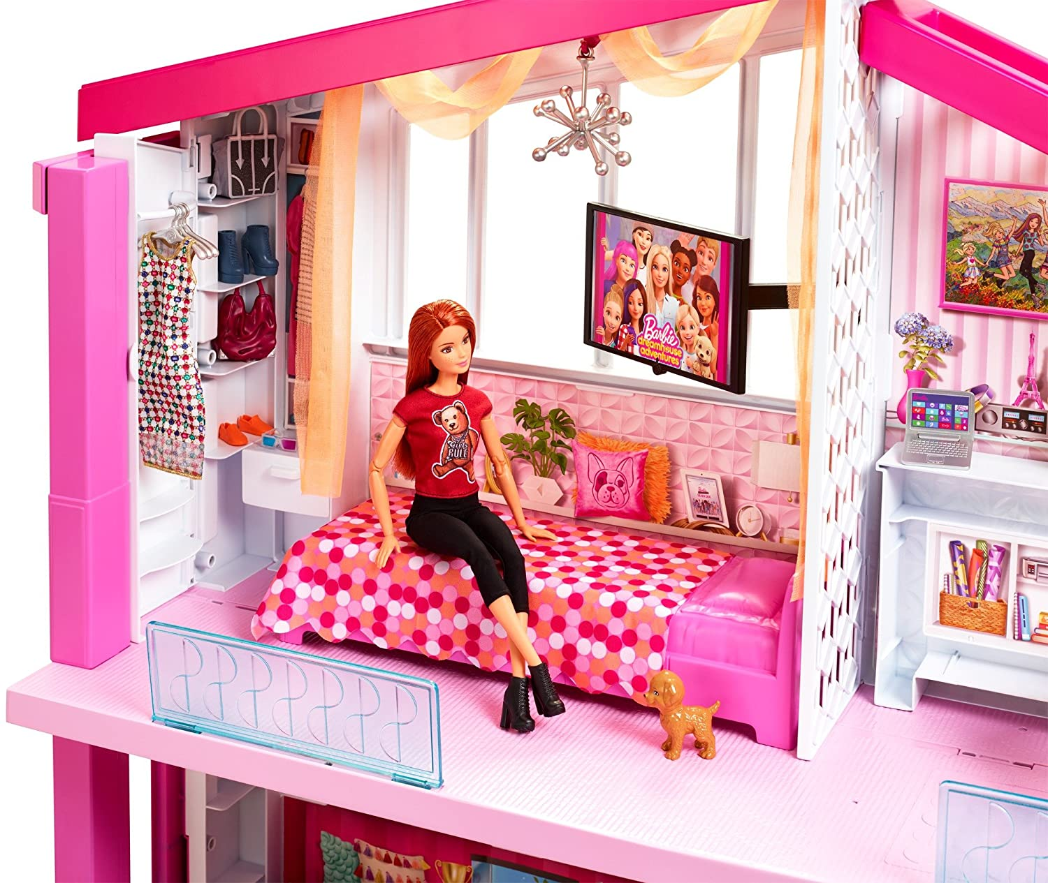 Barbie Dreamhouse New Model Pool Slide Elevator For That Special