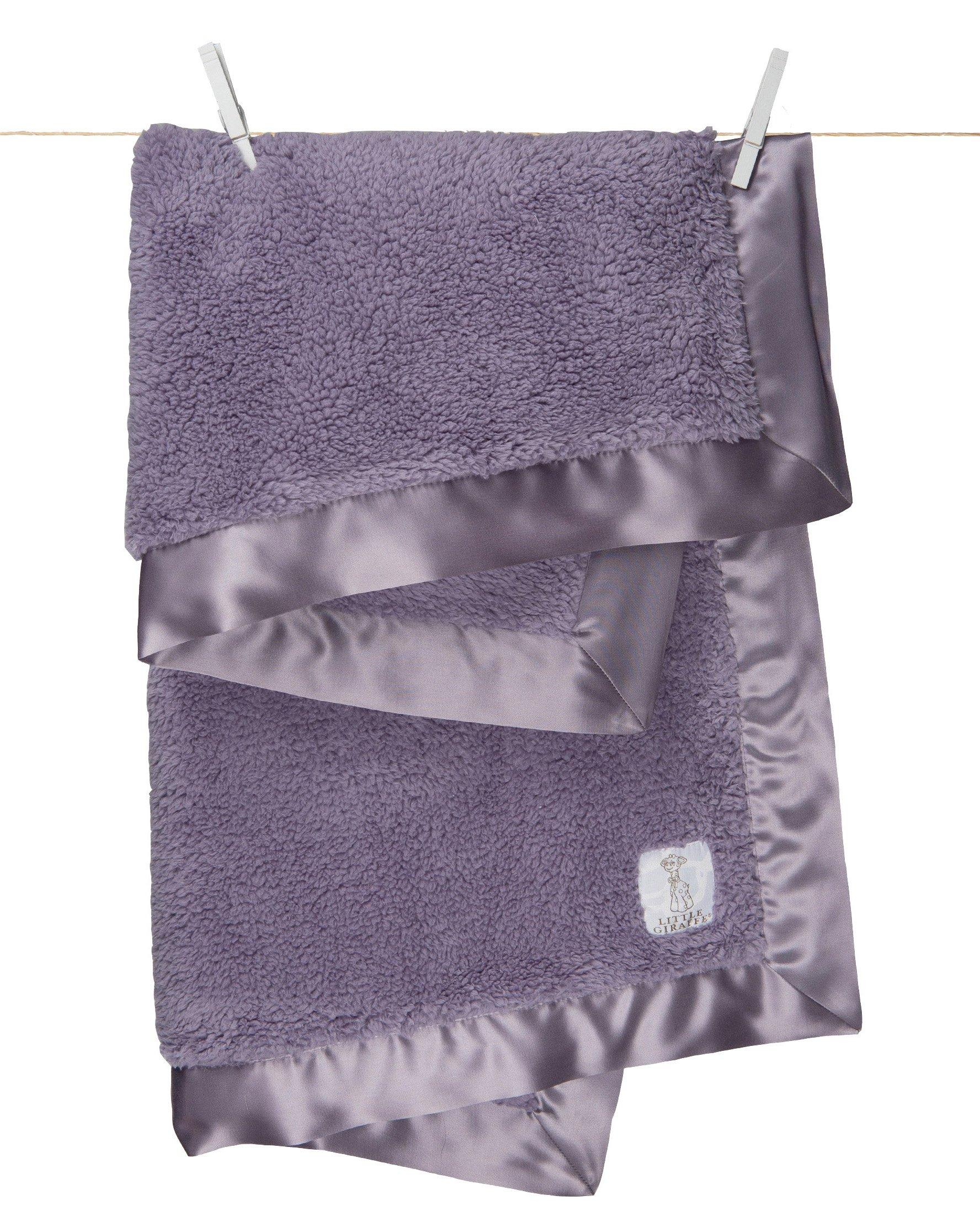Ritorujirafu Little Giraffe - Dealer imports] BELLA blanket (lavender) / BOX containing lg0057-05B