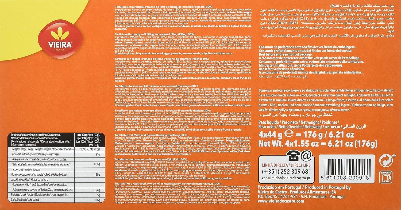 Vieira Galletas - Paquete de 12 x 176 gr - Total: 2112 gr: Amazon.es: Alimentación y bebidas