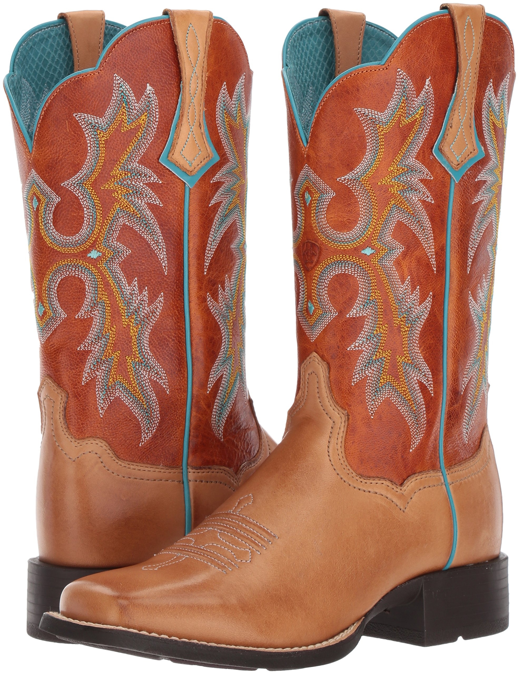 Ariat Women's Tombstone Work Boot, Tack Room Honey, 8.5 B US by Ariat (Image #6)