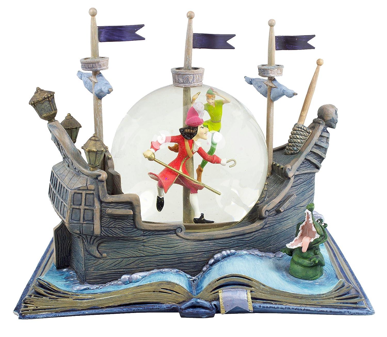 Amazon.com: Hallmark Disney Collection CLX2003 Peter Pan Water Globe ...