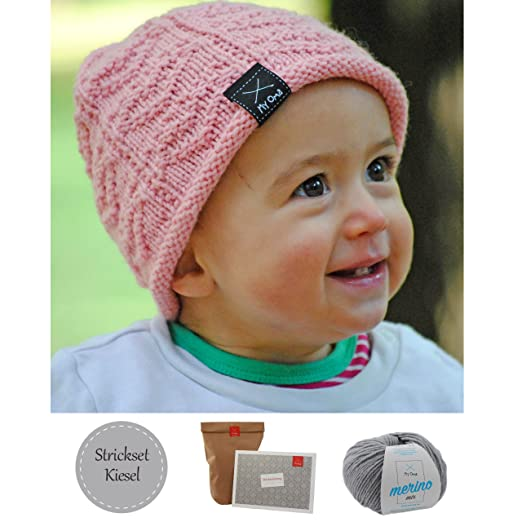 Babymütze Stricken Diy Mütze Herzallerliebst Mütze Für Babys