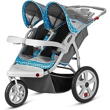 Amazon Com Instep Safari Double Swivel Wheel Stroller