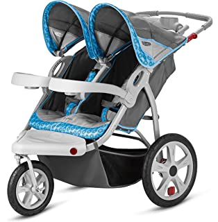Amazon.com: Combi Twin Savvy E Stroller, Red Chevron: Sports ...