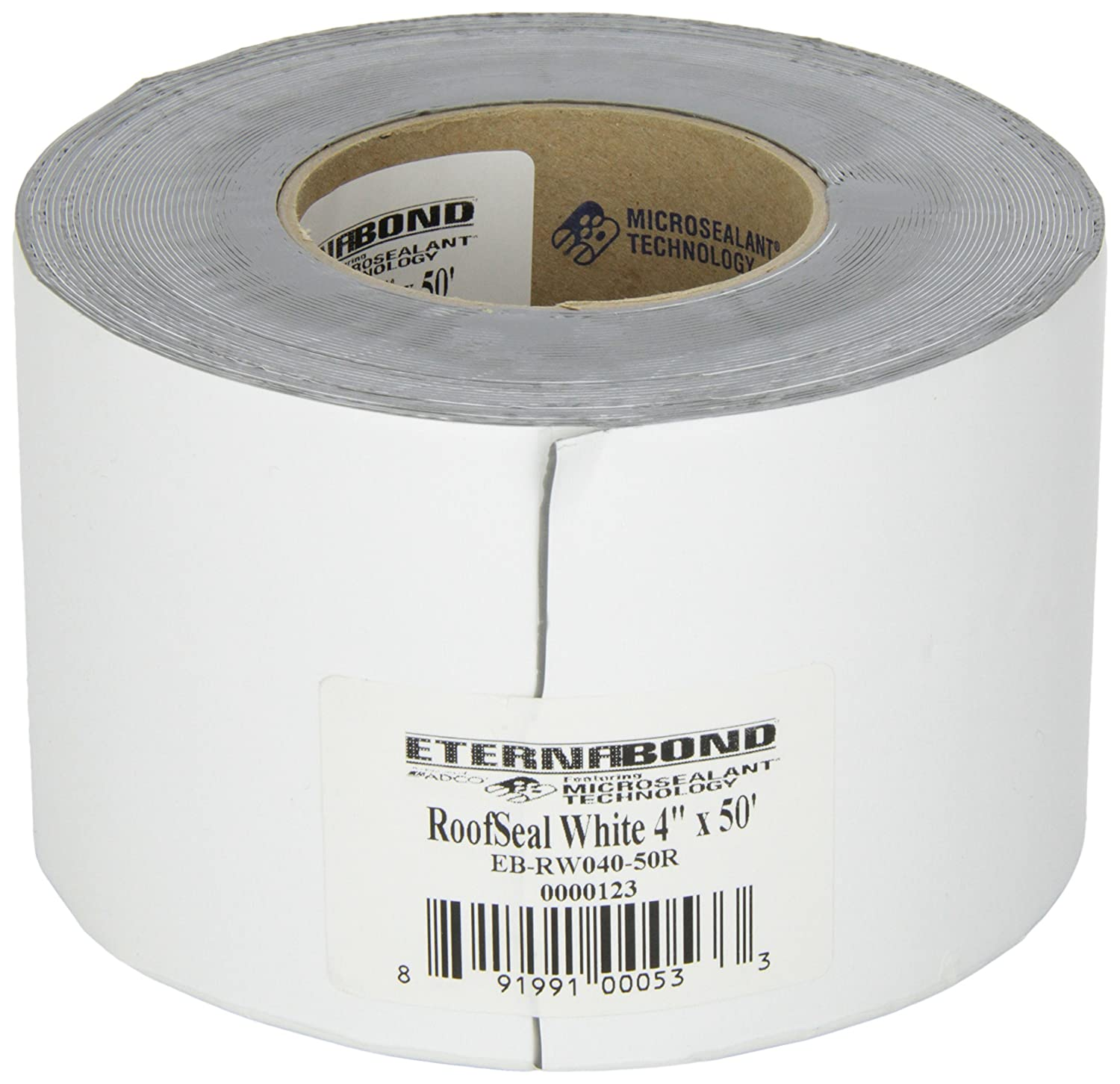 "EternaBond RSW-4-50 RoofSeal Sealant Tape, White-4"" x 50'"