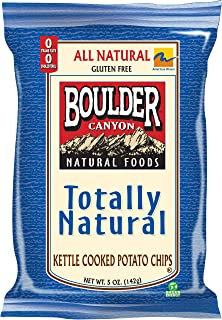 product image for Boulder Canyon Kettle Chips, Totally Natural, 5-Ounce Bags (Pack of 12)