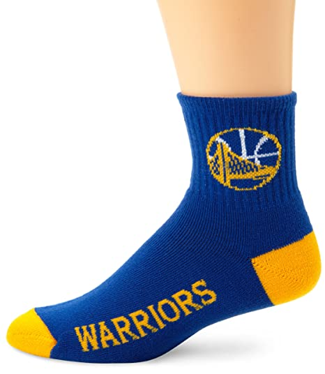 Golden State Warriors Team Color Quarter Socks