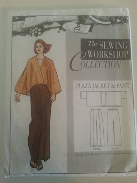 Amazon Patterns Sewing Workshop Collection Plaza Jacket Pant