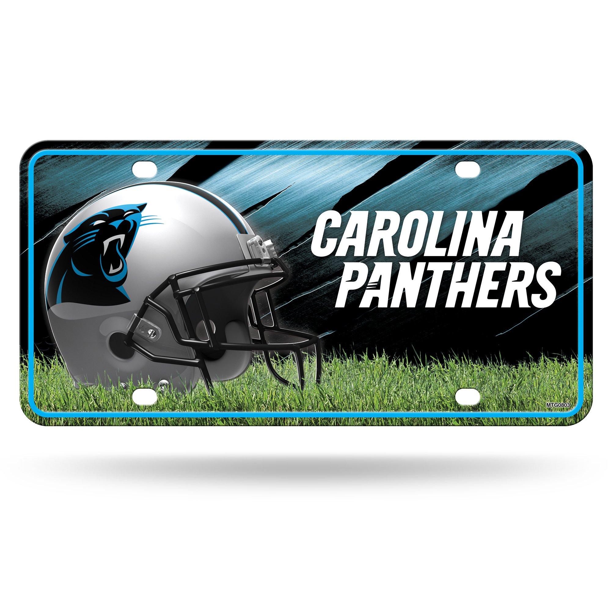 NFL Carolina Panthers Metal Auto Tag