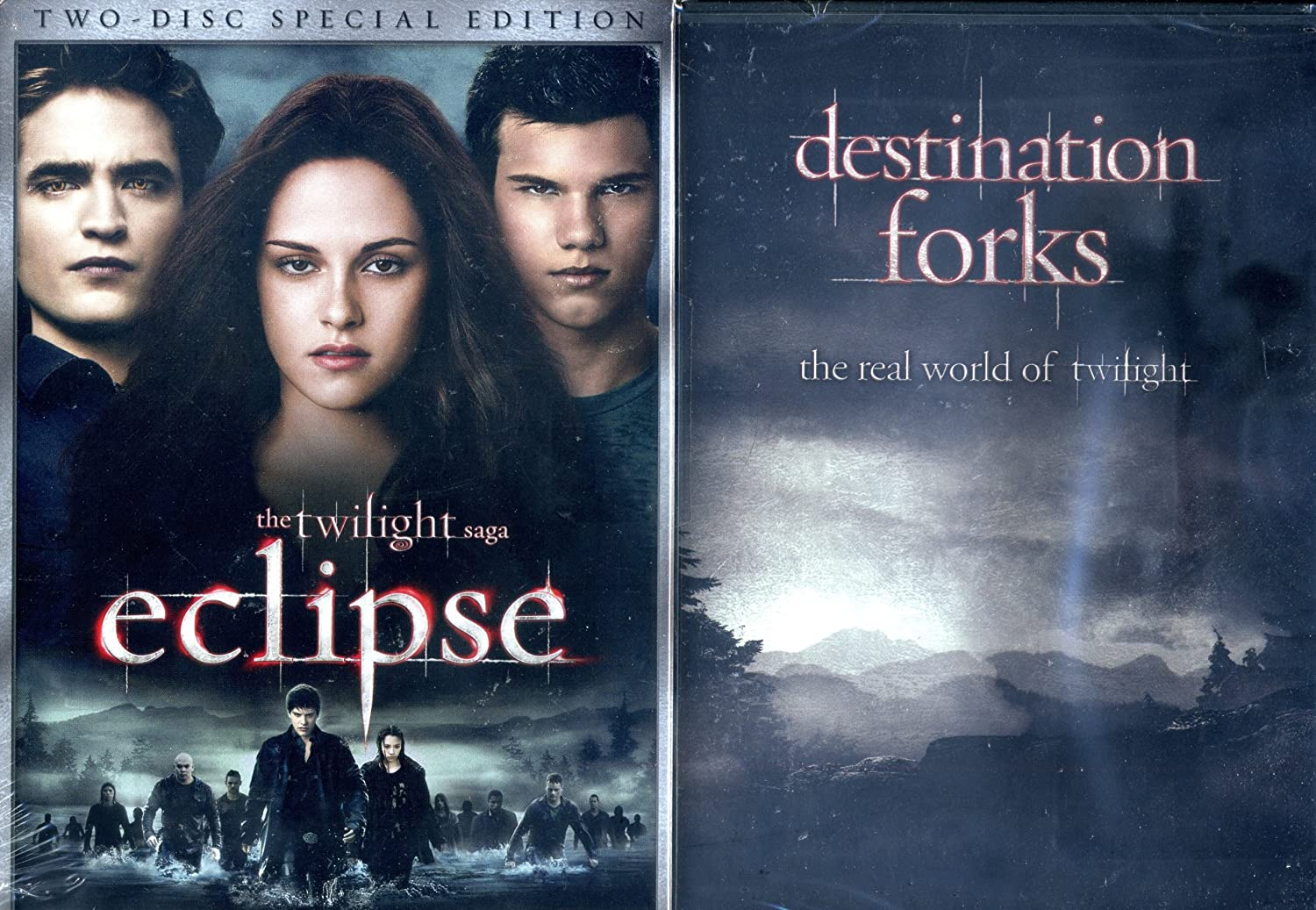 The Twilight Saga: Eclipse - Two Disc / Destination Forks: Real World of Twilight 2-Pack: Amazon.es: Cine y Series TV