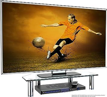 RICOO FS6026-C, Soporte TV de Cristal, Elevador televisión ...