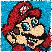 Dimensions 72-75279 Arts and Crafts Super Mario - Juego de ganchos para cerrojo (30,5 x 30,5 cm)