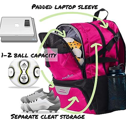 0f707ecad9f5 ... Athletico National Soccer Bag - Backpack for Soccer