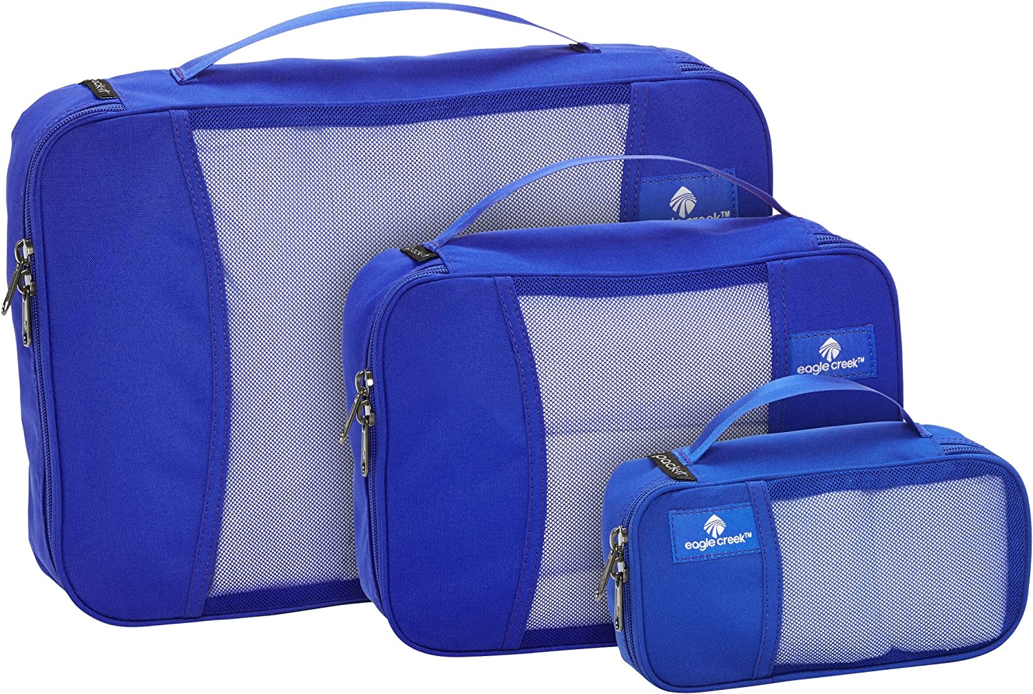   Eagle Creek Travel Gear Pack It, Blue Sea 3 Pack, One Size   Packing Organizers