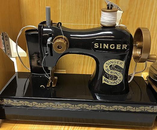 Singer(R) - Máquina de coser antigua a pilas: Amazon.es: Hogar