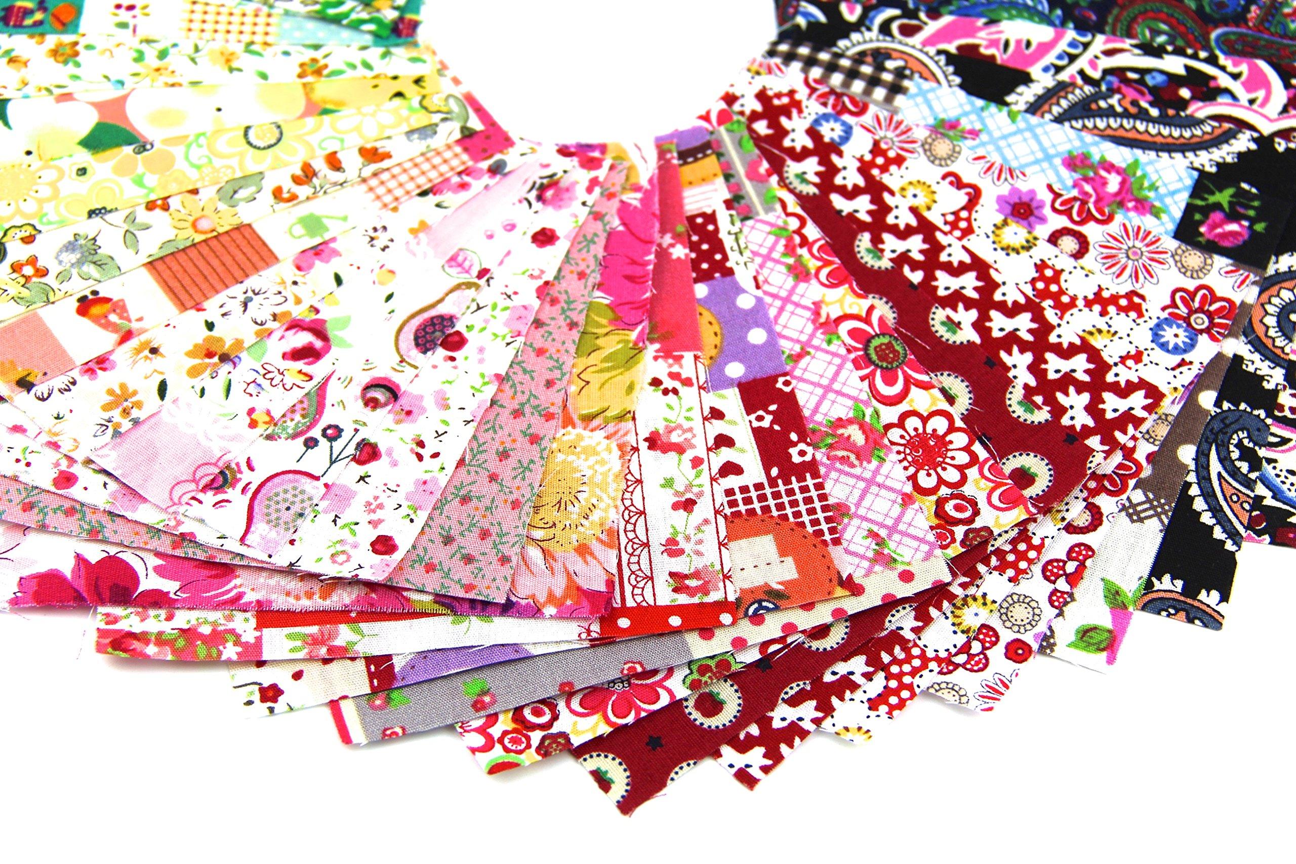 raylinedo 50x different pattern patchwork 100 cotton