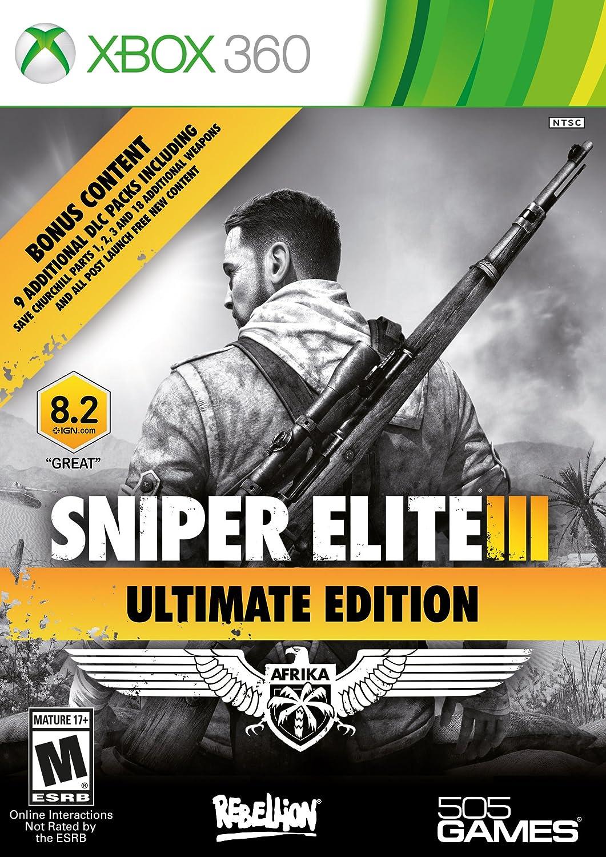 505 Games Sniper Elite 3 Ultimate Edition Xbox 360 - Juego (Xbox ...