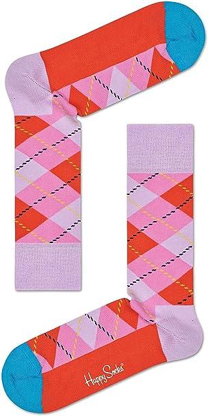 Fashion Mens Cotton Happy Socks Warm Colorful Diamond Casual Dress Socks 9-11
