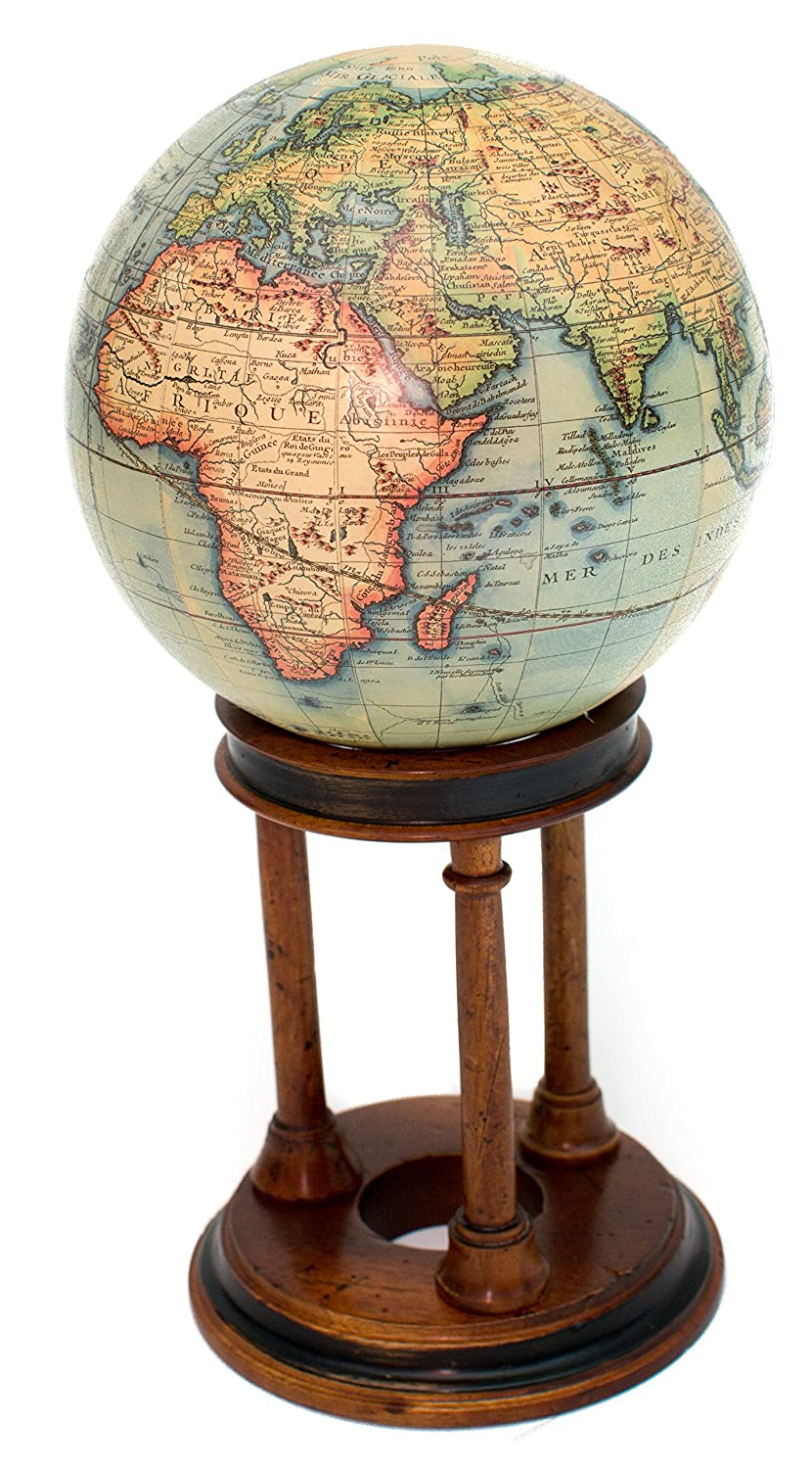 French Desk Top Authentic Globe of the World up to 1745 Bello Games New York Inc.