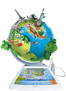 Amazon zanzoon map world interactive talking world map toys oregon scientific sg268r smart globe adventure ar educational world geography kids learning toy gumiabroncs Image collections