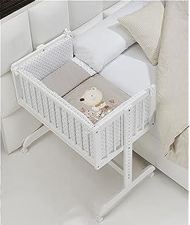 MINICUNA COLECHO COMPLETA. Incluye: Edredon desmontable con relleno + Cojín almohada…